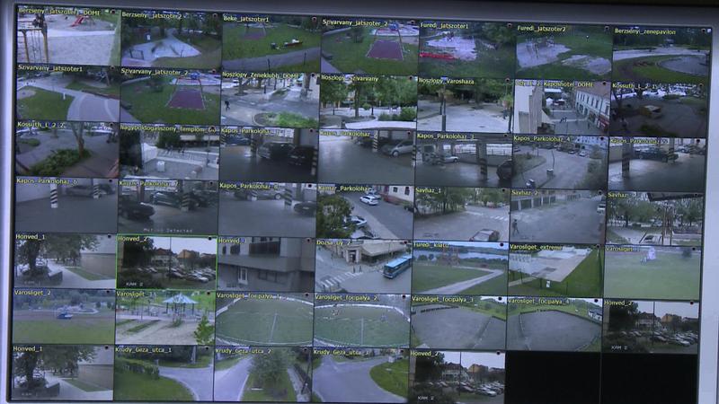 Kamerarendszer a Somogy Megyei Rendőr-főkapitányságon