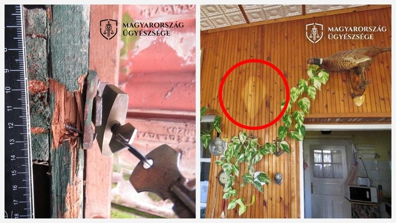 A férfi összesen 174.500 forint értékű tárgyat tulajdonított el jogtalanul.