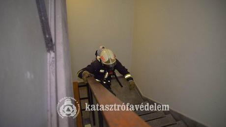 Lépcsőztek a somogyi tűzoltók