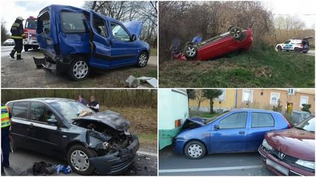 Sérült, piás és a baleset után elhajtó sofőrről is szól az összesítő
