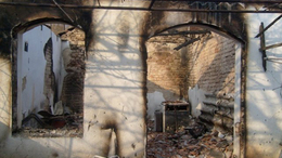 Kiégett a présház