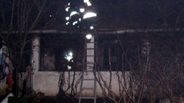 Leégett egy hetesi lakóház