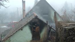 Lángokban állt egy kukorica tároló Lullán