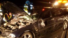 Kamion és autó ütközött az M7-es autópályán