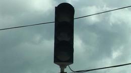 Nem működnek a közlekedési lámpák a Margit-templomnál