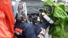 Vegyibalesethez vonultak a tűzoltók