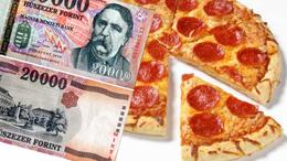 Pizzát rendelt a két amatőr hamisító