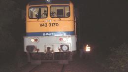 Halálos vonatgázolás Jákó és Kutas között