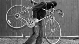 Kilógott a csomagtartóból a lopott bringa kereke