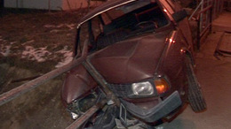 Patakban landolt egy kocsi Kaposváron