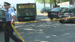 Magyar rombológránát a siófoki strandon - felrobbantották