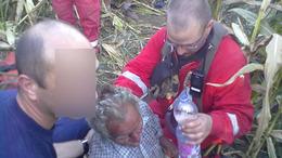 Lóval, motorral és a levegőből is keresték a 70 éves férfit