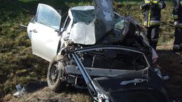 Súlyos baleset az M7-esen - fotókkal