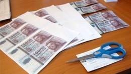 Nyomtatóval gyártották a hamis pénzt