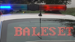 Árokba szorította az autóst, most a rendőrök keresik