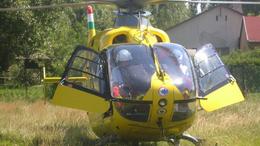 Mentőhelikoptert riasztottak Fonyódligetre