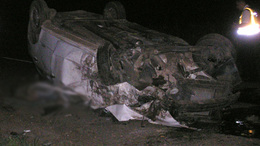 Kirepült a kocsiból és meghalt a 20 éves fiú