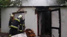 Családi házat oltottak a somogyi tűzoltók