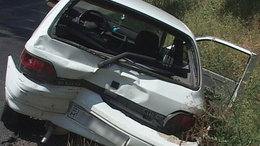 Szülő nő rekedt a mentőben a balesetnél