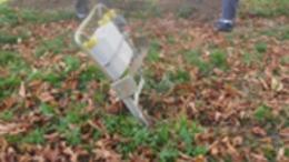 Egy kidöntött gázóra miatt szivárgott a vezeték