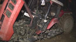 Traktor és autó ütközött Vésénél