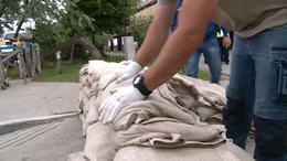 Katasztrófára készültek a Balatonnál