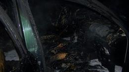 Lángolt az autó a 7-es főúton