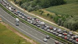 Csúcsforgalom az európai utakon