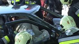 Két autó ütközött Töröcskénél a 67-es főúton