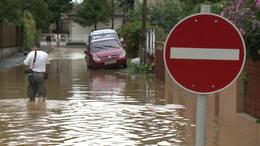 Visszahúzódott a víz a Balatonnál