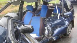 Újabb Suzuki baleset, most kamionnal ütközött Berzencén