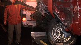 Frontálisan ütközött a KÖTÉL egyesület autója