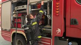 Lángoló garázshoz vonultak a tűzoltók