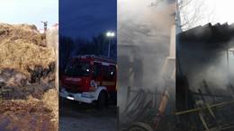 Fotókon a keddi tűzesetek