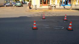 Kerékpárost gázoltak Kaposváron