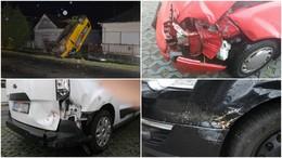 Egy baleset, öt sérült