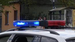 Felborult egy autó a 61-esen