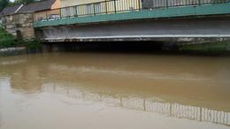 Kiterebélyesedett a Kapos folyó