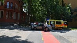 Biciklist gázoltak a belvárosban