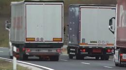 Kamionosokat ellenőríztek a rendőrök