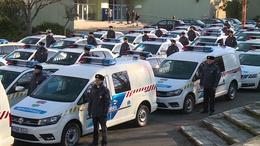 60 új autót kaptak a somogyi zsaruk
