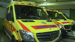 A mentőautóban szült meg egy nő Barcs közelében