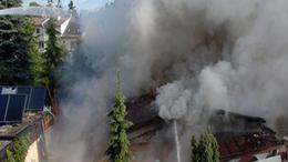 Rendőr akart felrobbantani egy házat a Nyár utcában