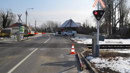 Egyre kevesebb a baleset a vasúti átjárókban