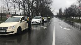 Leintették az autósokat a rendőrök