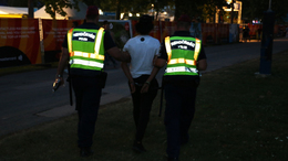 Három olasz fiatalt vittek be éjjel a balatoni zsaruk