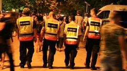 Polgárőrök az éjszakában
