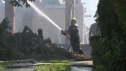 Családi ház lángolt Bábonymegyeren