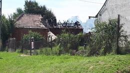 Leégett egy ház Kaposváron