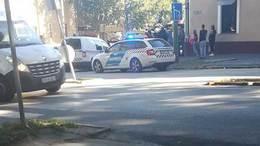 Motorost gázoltak a Hársfa utcánál